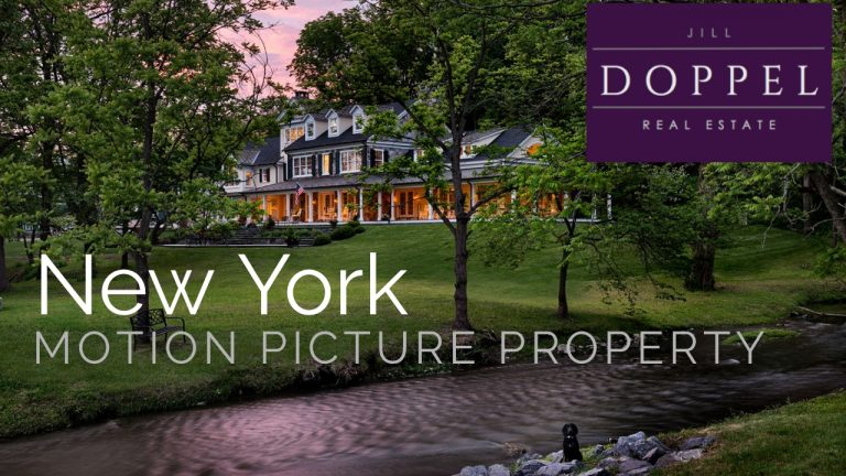 World Class New York Estate – Motion Picture Film Location