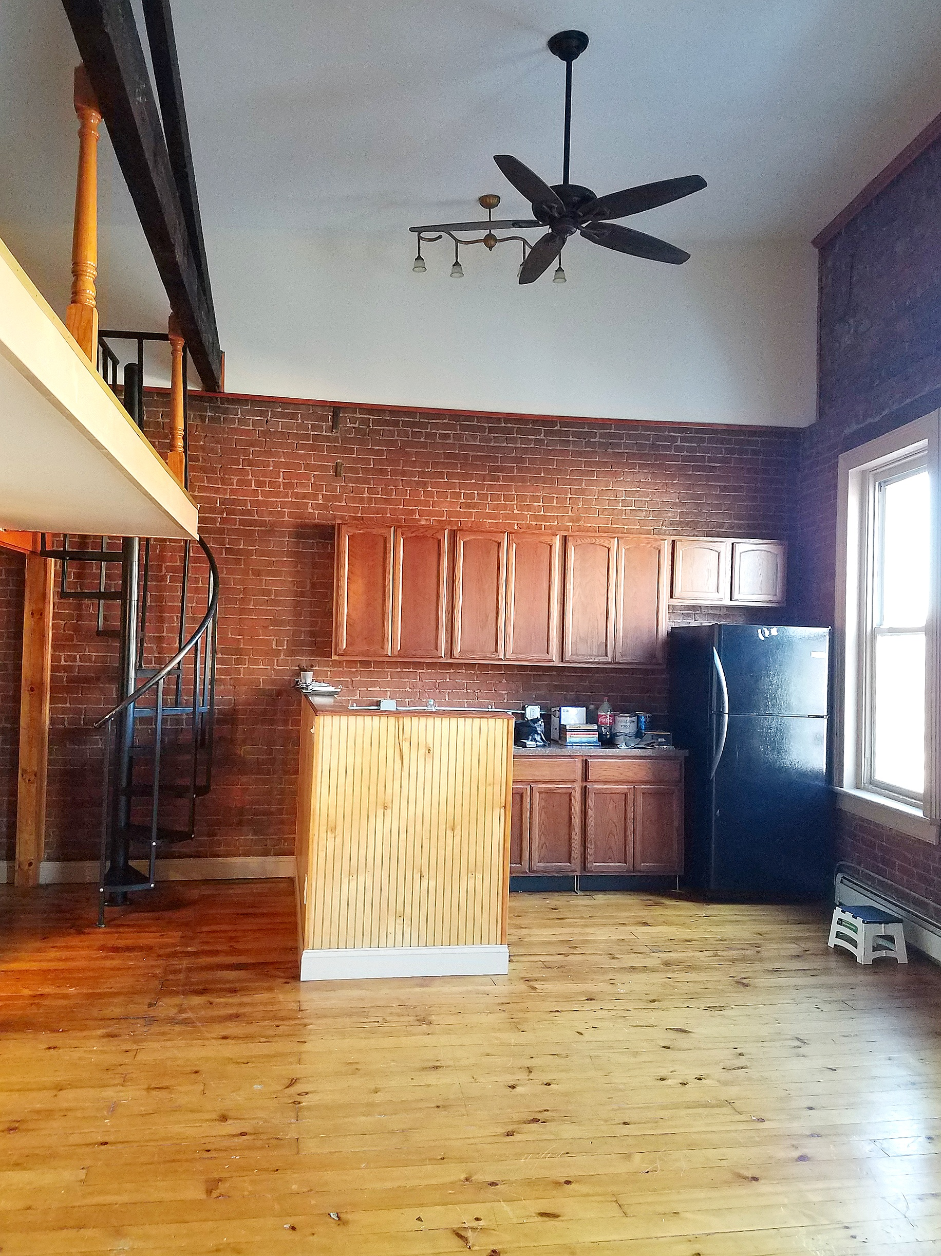 Grand Civil War Era NYC Style 1 BR Loft: Wappingers Apartment