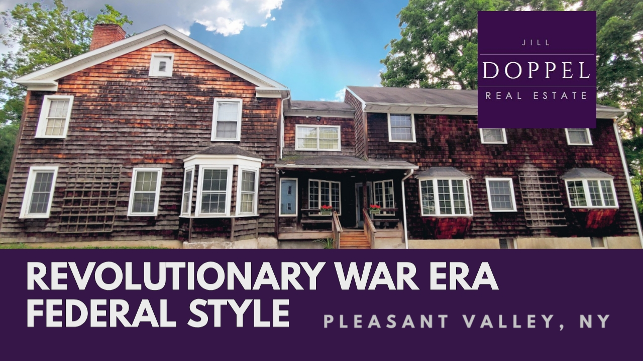 Revolutionary War Era Federal Style Office Building – Pleasant Valley NY